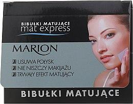 Parfüm, Parfüméria, kozmetikum Mattító kendő, 4db+1 - Marion Mat Express