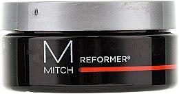 Eősen fixáló modellező krém gél - Paul Mitchell Mitch Reformer Texturizer — fotó N2