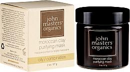 Parfüm, Parfüméria, kozmetikum Tisztító arcmaszk - John Masters Organics Moroccan Clay Purifying Mask