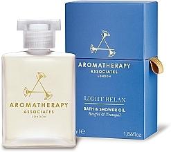 Parfüm, Parfüméria, kozmetikum Nyugtató olaj fürdéshez - Aromatherapy Associates Light Relax Bath & Shower Oil