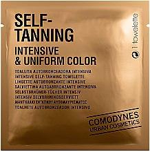 Parfüm, Parfüméria, kozmetikum Intenzív önbarnító törlőkendő - Comodynes Self-Tanning Intensive & Uniform Color