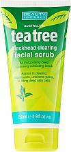 """Parfüm, Parfüméria, kozmetikum Arctisztító peeling """"Teafa"""" - Beauty Formulas Tea Tree Facial Scrub"""
