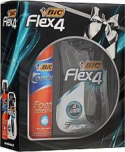 Parfüm, Parfüméria, kozmetikum Szett - Bic Flex 4 Comfort (razor/3 db + foam/250ml)