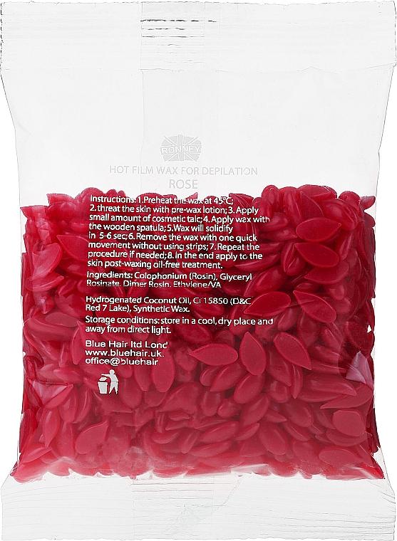 """Szőrtelenítő viasz granulátum """"Rózsa"""" - Ronney Hot Film Wax Rose"""