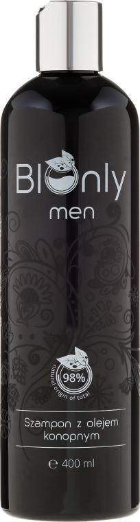 Sampon kenderolajjal - BIOnly Men Shampoo
