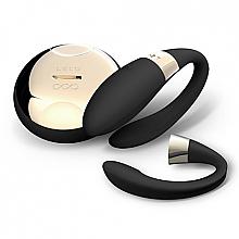 Parfüm, Parfüméria, kozmetikum Intim vibráló masszírozó, párok részére, fekete - Lelo Tiani 2 Design Edition