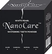 Parfüm, Parfüméria, kozmetikum Fogfehérítő por - VitalCare White Pearl NanoCare Charcoal Teeth Powder
