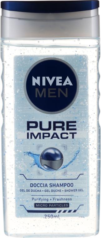 Sampon és tusfürdő - Nivea Men Pure Impact 2 In 1