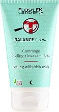 Parfüm, Parfüméria, kozmetikum Peeling kombinált bőrre - Floslek Balance T-Zone Gommage Peeling With AHA Acids