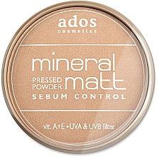 Parfüm, Parfüméria, kozmetikum Arcpúder - Ados MINERAL MATT