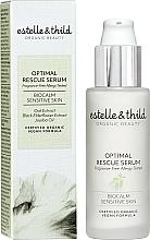 Parfüm, Parfüméria, kozmetikum Arcszérum - Estelle & Thild BioCalm Optimal Rescue Serum