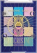 Parfüm, Parfüméria, kozmetikum Szemhéjfesték paletta - Vivienne Sabo Le Cristal Eyeshadow Palette