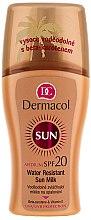 Parfüm, Parfüméria, kozmetikum Vízálló spray-naptej - Dermacol Water Resistant Sun Milk SPF 20