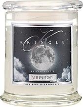 Parfüm, Parfüméria, kozmetikum Illatgyertya üvegben - Kringle Candle Midnight