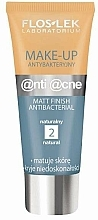 Parfüm, Parfüméria, kozmetikum Antibakteriális mattító krém - Floslek Anti Acne Make Up