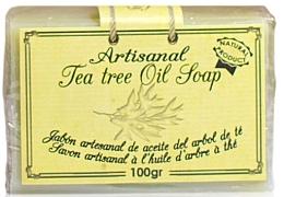 Parfüm, Parfüméria, kozmetikum Natúr szappan teafaolajjal - Arganour Natural Soap with Tea Tree Oil