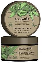 "Parfüm, Parfüméria, kozmetikum Sampon-peeling ""Tisztítás és detox"" - Ecolatier Organic Aloe Vera Shampoo-Scrub"