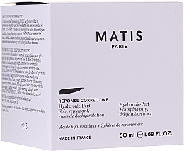 Parfüm, Parfüméria, kozmetikum Hidratáló arckrém - Matis Hyaluronic-Perf Plumping Care