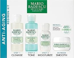 Parfüm, Parfüméria, kozmetikum Szett - Mario Badescu Anti-Aging Kit (cleanser/56ml+toner/56ml+cr/28ml+mask/14ml+eye/cr/3g)