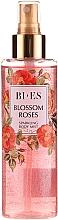 Parfüm, Parfüméria, kozmetikum Bi-es Blossom Roses Sparkling Body Mist - Illatosított csillogó testpermet