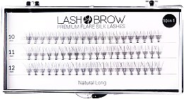 Parfüm, Parfüméria, kozmetikum Műszempilla - Lash Brown Premium Flare Silk Lashes Natural Long