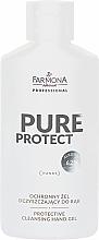 Parfüm, Parfüméria, kozmetikum Védő kézgél - Farmona Professional Pure Protect Hand Gel