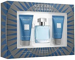 Parfüm, Parfüméria, kozmetikum Szett - Azzaro Chrome (edt/30ml + shm/50ml + balm/50ml)