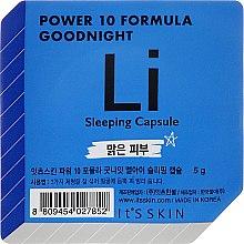 Parfüm, Parfüméria, kozmetikum Éjszakai maszk-kapszula - It's Skin Power 10 Formula Goodnight Li Sleeping Capsule