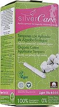 Parfüm, Parfüméria, kozmetikum Organikus pamut tampon, 18db - Masmi Silver Care Light