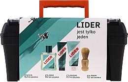 Parfüm, Parfüméria, kozmetikum Szett - Lider Classic Tool Box Set (ash/lot/100ml + sh/cr/65g + ash/balm/100ml + sh/brush + case)