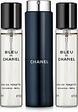 Parfüm, Parfüméria, kozmetikum Chanel Bleu de Chanel - Eau De Toilette (edt/20ml + refilles/2x20ml)