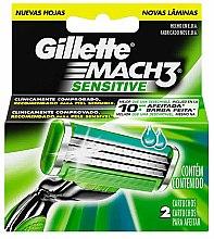 Parfüm, Parfüméria, kozmetikum Borotva pótfej, 2 db. - Gillette Mach3 Sensitive