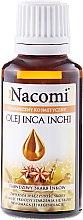 "Parfüm, Parfüméria, kozmetikum ""Inca Inchi"" olaj arcra és testre - Nacomi Olej Inca Inchi Odbudowa Kolagenu Skóry"