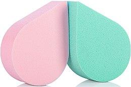 Parfüm, Parfüméria, kozmetikum Sminkszivacs, 35814, zöld+rózsaszín - Top Choice