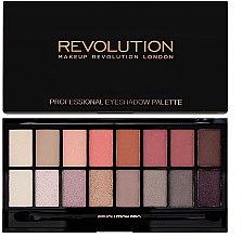 Parfüm, Parfüméria, kozmetikum Szemhéjfesték paletta, 16 árnyalat - Makeup Revolution Professional Eyeshadow Palette