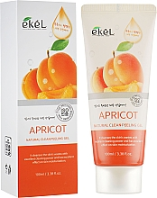 "Parfüm, Parfüméria, kozmetikum Arcpeeling-gél ""Barack"" - Ekel Apricot Natural Clean Peeling Gel"