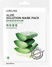 "Parfüm, Parfüméria, kozmetikum Szövetmaszk ""Aloe vera"" - Lebelage Aloe Solution Mask"