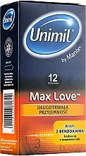 Parfüm, Parfüméria, kozmetikum Óvszer, 12db - Unimil Max Love