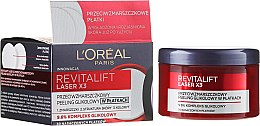 Parfüm, Parfüméria, kozmetikum Arckrém peeling ráncok ellen - L'Oréal Paris Revitalift Laser X3