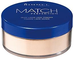 Parfüm, Parfüméria, kozmetikum Porpúder - Rimmel Match Perfection Silky Loose Powder