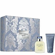 Parfüm, Parfüméria, kozmetikum Dolce&Gabbana Light Blue Pour Homme - Szett (edt/75ml + ash/balm/50ml)