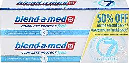 """Parfüm, Parfüméria, kozmetikum Fogkrém készlet """"Komplexum 7"""" - Blend-a-med Complete 7 Extra Fresh"""