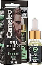 Parfüm, Parfüméria, kozmetikum Szakállolaj - Delia Cameleo Men Beard and Moustache Oil