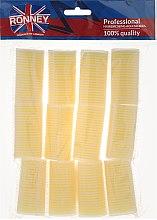 Parfüm, Parfüméria, kozmetikum Öntapadós hajcsavaró 32/63mm, világos sárga - Ronney Professional Velcro Roller