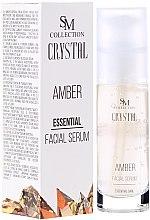 Parfüm, Parfüméria, kozmetikum Természetes borostyán gél-szérum - SM Collection Crystal Amber Facial Serum