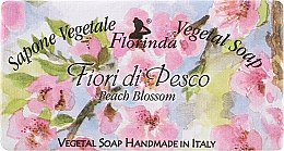 """Parfüm, Parfüméria, kozmetikum Természetes szappan """"Őszibarack virágok"""" - Florinda Sapone Vegetal Soap Peach Blossom"""