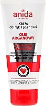 Parfüm, Parfüméria, kozmetikum Kéz- és körömápoló krém - Anida Pharmacy Argan Oil Hand Cream