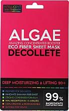 Parfüm, Parfüméria, kozmetikum Express maszk dekoltázsra - Beauty Face IST Deep Moisturizing & Lifting Decolette Mask Algae