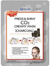 """Parfüm, Parfüméria, kozmetikum """"Aktív szenes"""" arcmaszk - Celkin Press & Shiny Creamy CO2 Mask"""
