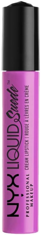 Folyékony rúzs - NYX Professional Makeup Liquid Suede Cream Lipstick